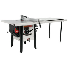 """1-3/4HP 1PH 115V ProShop II Table Saw with Cast Wings and 52"""" Rip Capacity"""