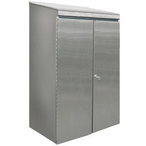 Protective Stainless Steel Housing with Lockable Door