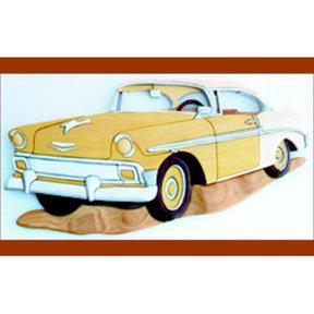 '56 Chevy Intarsia Pattern