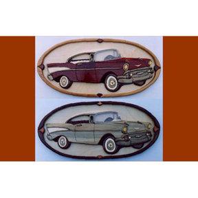 '57 Chevy Intarsia Pattern