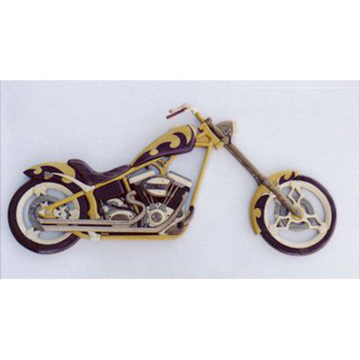 View a Larger Image of Chopper Intarsia Pattern