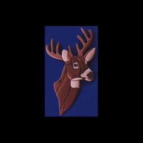 Deer Intarsia Pattern