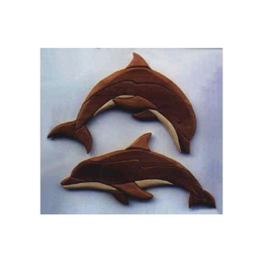 View a Larger Image of Dolphin Intarsia Pattern