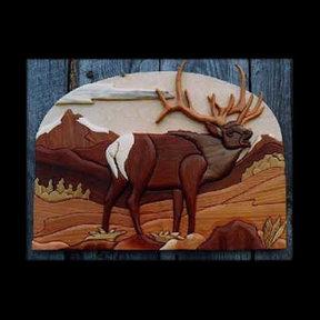 Elk Intarsia Pattern