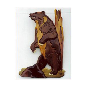 Grizzly Intarsia Pattern