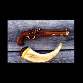 Kentucky Pistol Intarsia Pattern