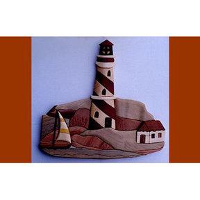 Lighthouse Intarsia Pattern