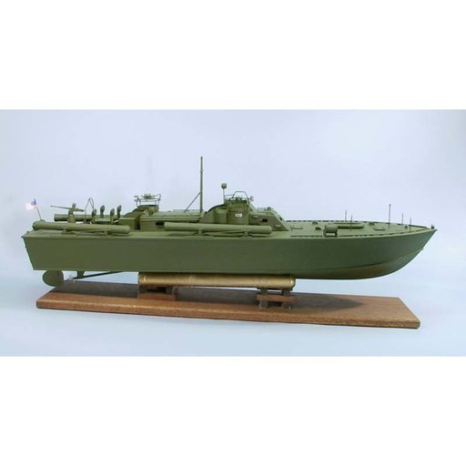 View a Larger Image of PT-109 Boat Kit