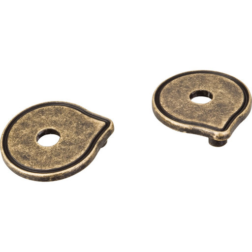 View a Larger Image of Pull Escutcheon for use with 527   Distressed Antique Brass