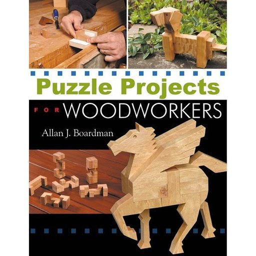 View a Larger Image of Puzzle Projects for Woodworkers