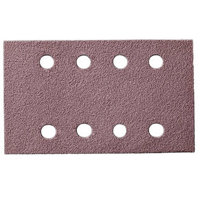 "Q.SILVER ACE 3x5"" Grip Sandpaper, 8H P80, 50 Sheets/Box"
