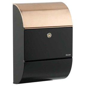 Allux 3000 Mailbox, Black and Copper