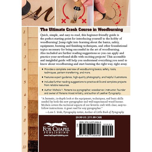 View a Larger Image of Quick-Start Woodburning Guide