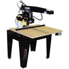 """Radial Arm Saw with 12"""" Blade and 24"""" Crosscut,  3HP 3PH 208/230V"""