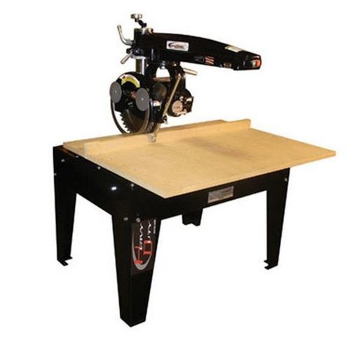 """View a Larger Image of Radial Arm Saw with 14"""" Blade and 24"""" Crosscut,  5HP 3PH 460V"""