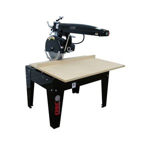 """Radial Arm Saw with 16"""" Blade and 16"""" Crosscut,  5HP 3PH 208/230V"""