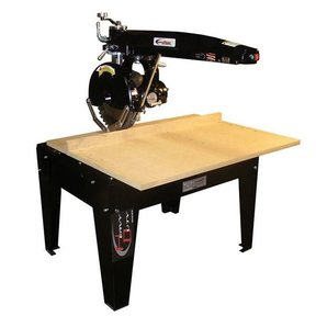 """Radial Arm Saw with 16"""" Blade and 24"""" Crosscut,  5HP 3PH 208/230V"""
