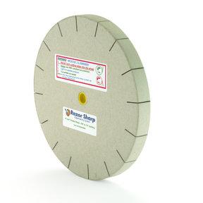 Razor Sharp Edgemaking 8in Slotted Polishing Wheel