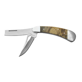 "Razor XL - 2 Blade Razor Pocket Knife, Stainles Steel 2"" Blades"