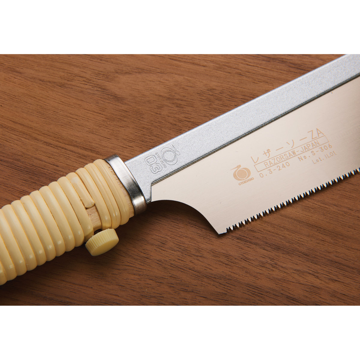 View a Larger Image of Dozuki Saw 240mm No. 306 with Replaceable Blade - Gyokucho