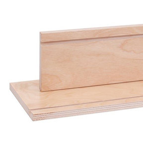 """Ready-To-Use Birch Drawer Sides with Clear UV Finish 8"""" x 60"""""""