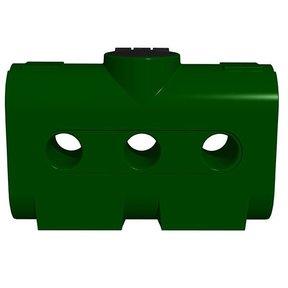 Rectangular Harvest Tank ONLY, 214 gallon, Green