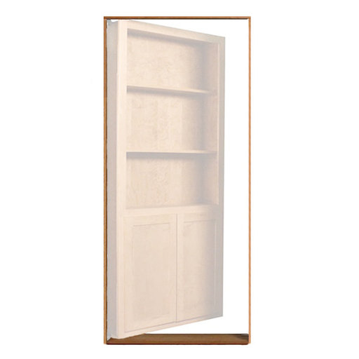 View a Larger Image of Red Oak Inswing Jam/Threshold Accessory for 32 in. or 36 in. InvisiDoor Bookcase Door
