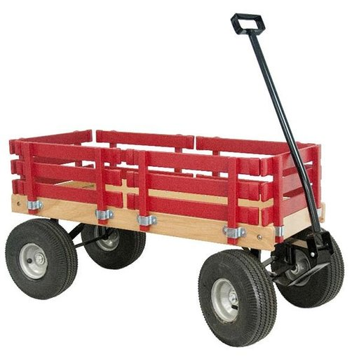 View a Larger Image of Red Sport Wagon - Amish Made