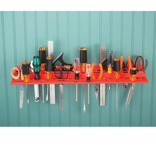 View a Larger Image of Red Tool Rack
