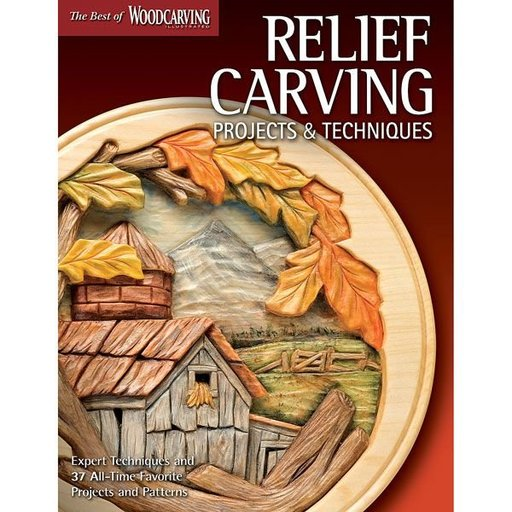 View a Larger Image of Relief Carving Projects & Techniques