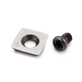 Replacement Carbide Turning Tool Insert - Square Radius