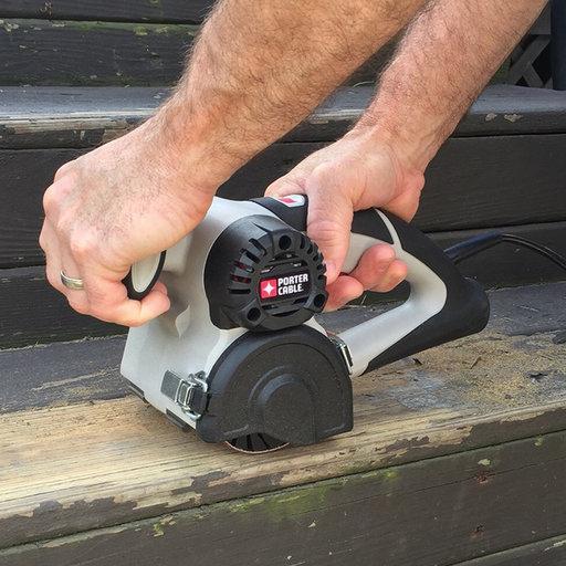 View a Larger Image of Restorer Handheld Drum Sander
