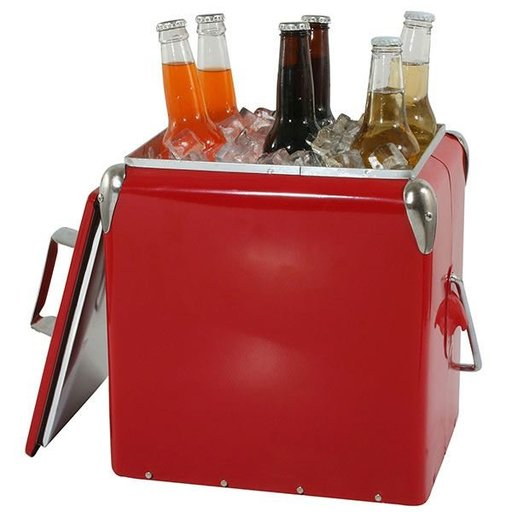 View a Larger Image of Retro Picnic Cooler