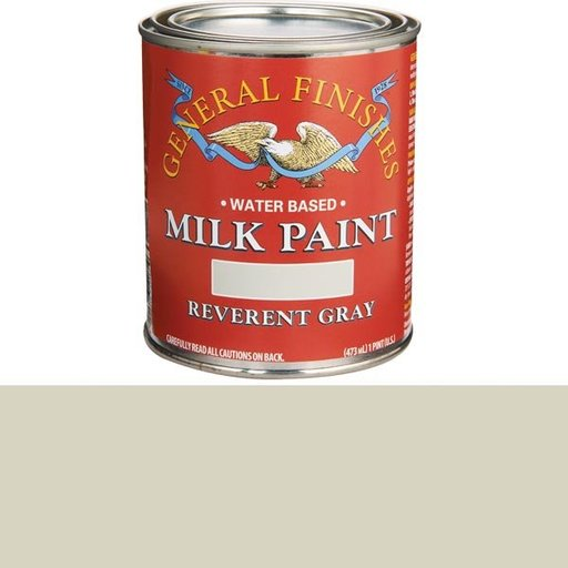 View a Larger Image of Reverent Gray Milk Paint Water Based Pint
