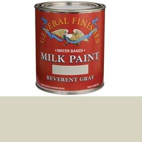 Reverent Gray  Milk Paint Water Based Quart