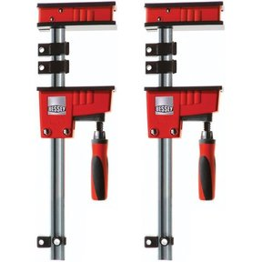 """Revo Fixed Jaw Parallel Clamp, 60"""", Pair"""