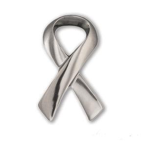 Ribbon Door Knocker - Nickel Silver
