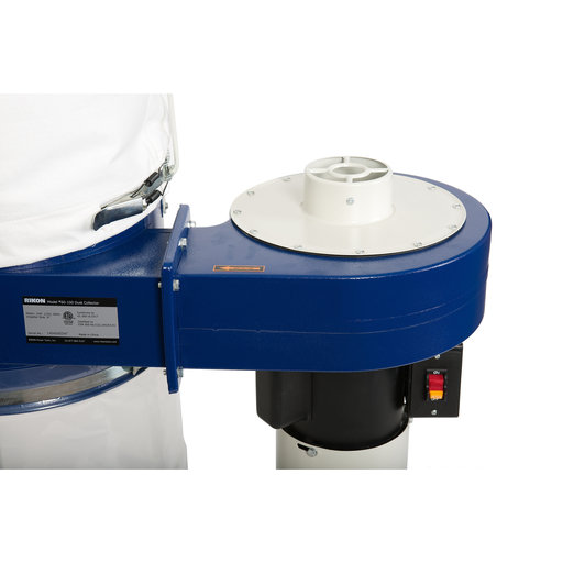 View a Larger Image of 1 HP Dust Collector with 5 Micron Bag
