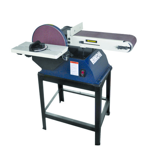 """View a Larger Image of 6"""" x 48"""" Belt, 10"""" Disc Sander with Stand, 50-122"""