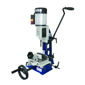 Mortiser with Dual Axis Table
