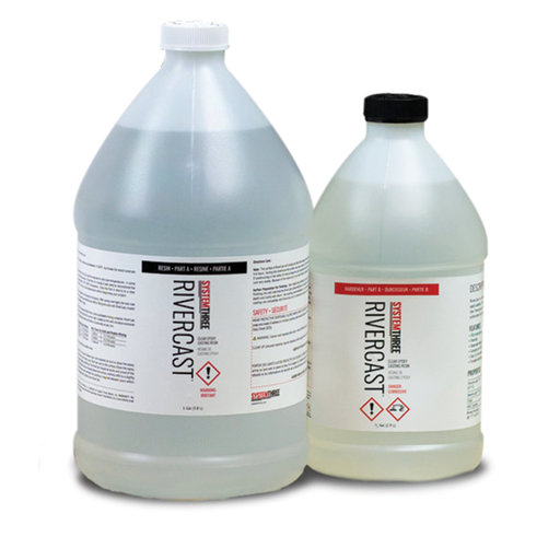 View a Larger Image of Rivercast Clear Epoxy System 1.5-Gallon Kit