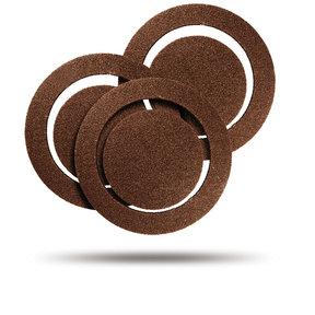 Vibrafree Sanding Disc Assortment Set, 2 pc each 60gr 120gr 220gr