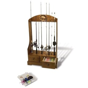 Rod Reel and Tackle Stand - Downloadable Plan