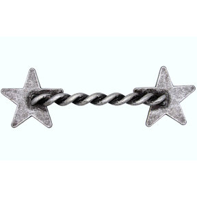 Rope Star Pull, Old Silver