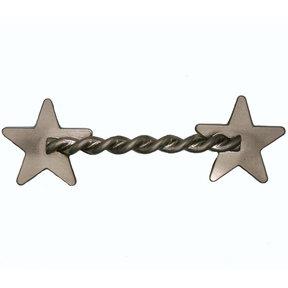 Rope Star Pull, Satin Nickel