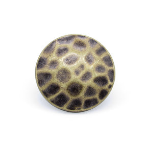 """Round 1-1/2"""" Clavo Decorative Nail, 4-Pack, Brass Oxide"""