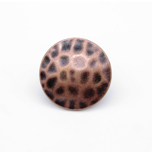 """View a Larger Image of Round 1-1/2"""" Clavo Decorative Nail, 4-Pack, Copper Oxide"""