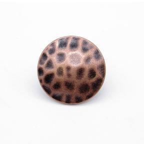"Round 1-1/2"" Clavo Decorative Nail, 8-Pack, Copper Oxide"