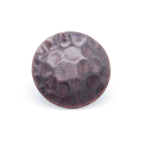 """Round 1-1/2"""" Clavo Decorative Nail, 8-Pack, Oil Rubbed Bronze"""