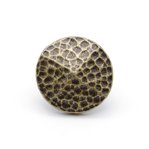 """View a Larger Image of Round 1-1/4"""" Hammered Clavo Decorative Nail, 4-Pack, Brass Oxide"""
